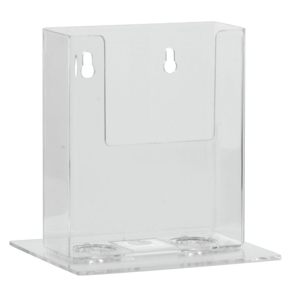 Clear Plastic Literature Holder