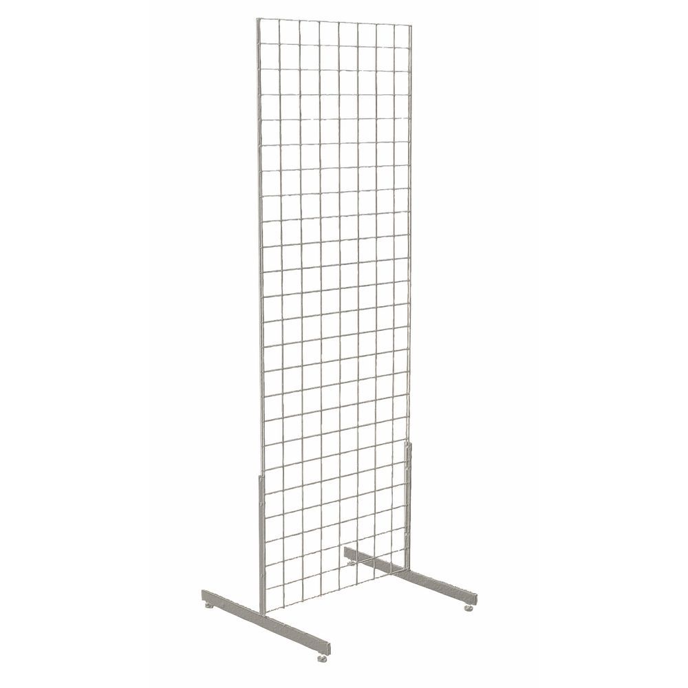 Chrome Wire Grid Display
