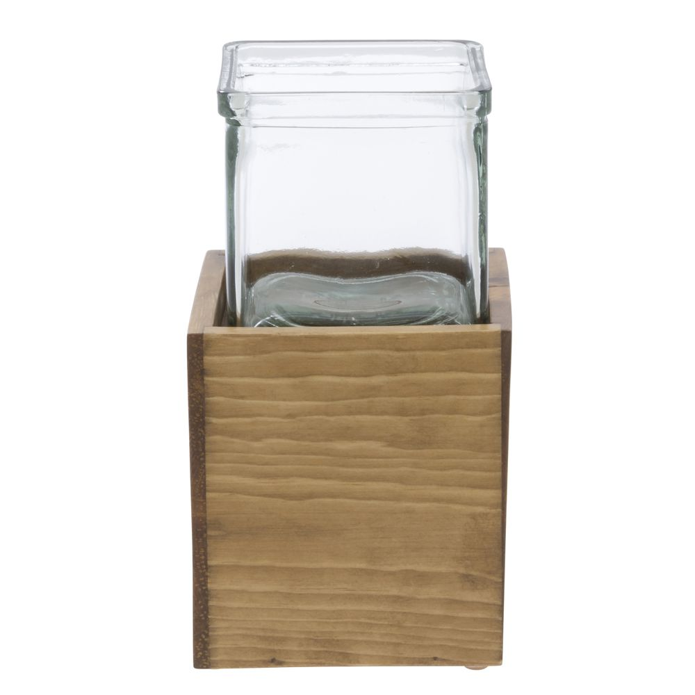Cal Mil Condiment Organizer Madera Collection
