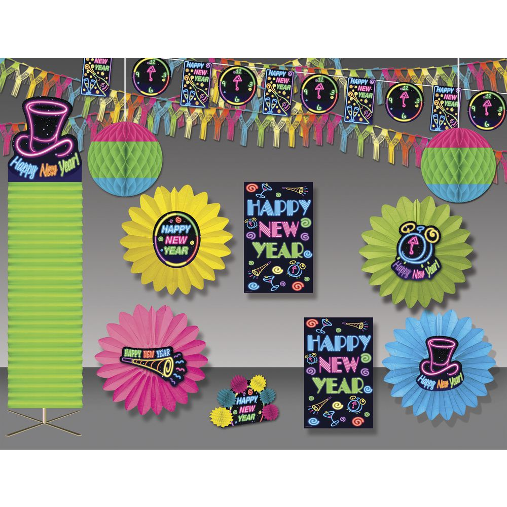 Expressly HUBERT® Neon New Year's Kit 4000 Sq Ft