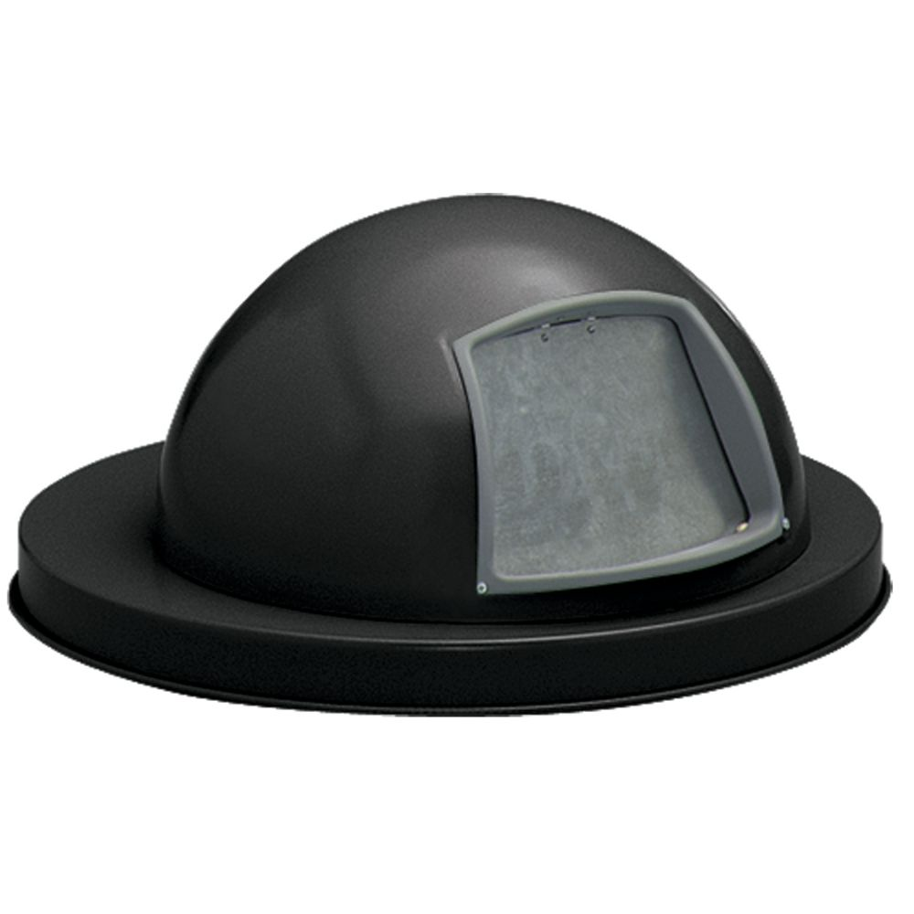 LID, DOME TOP, METAL, BLACK, FOR 95038