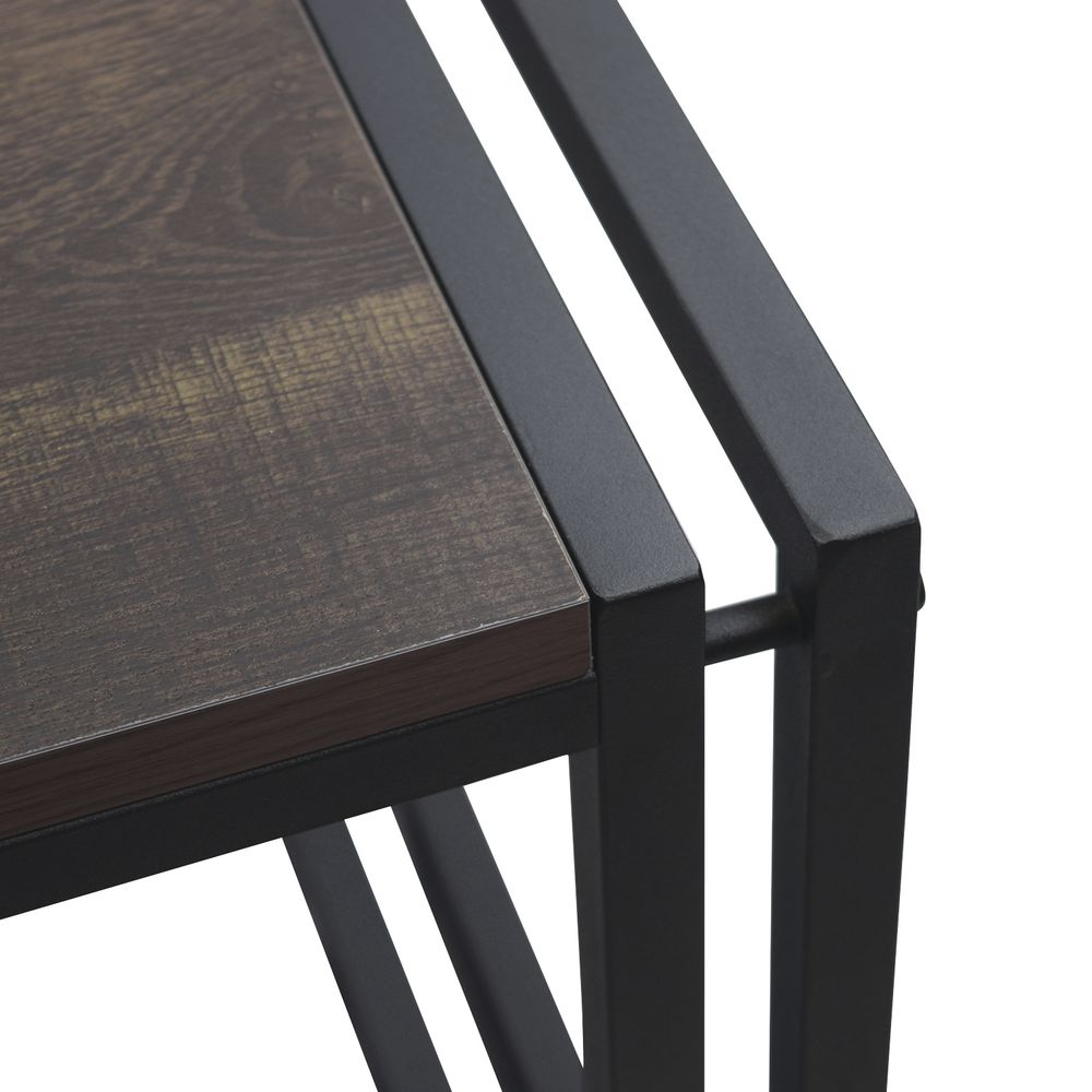 "DISPLAY TABLE, , METAL/LAMINATE, BLACK, 51""W"