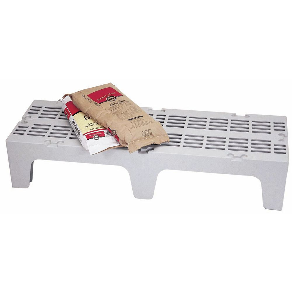 RACK, DUNNAGE SOLID, 30X21X12, SPEC GRAY