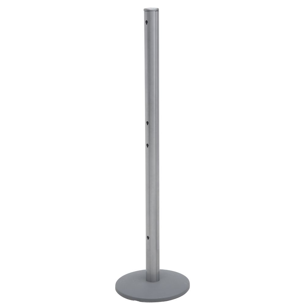 """POST, QUEING SYSTEM, SILVER, 50""""H"""