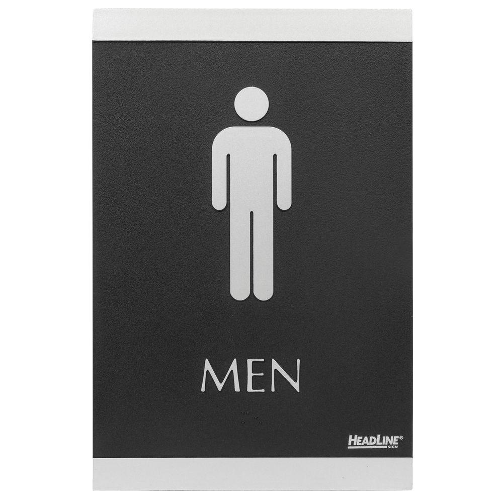 Men & Women ADA Restroom Signs, 2 PK
