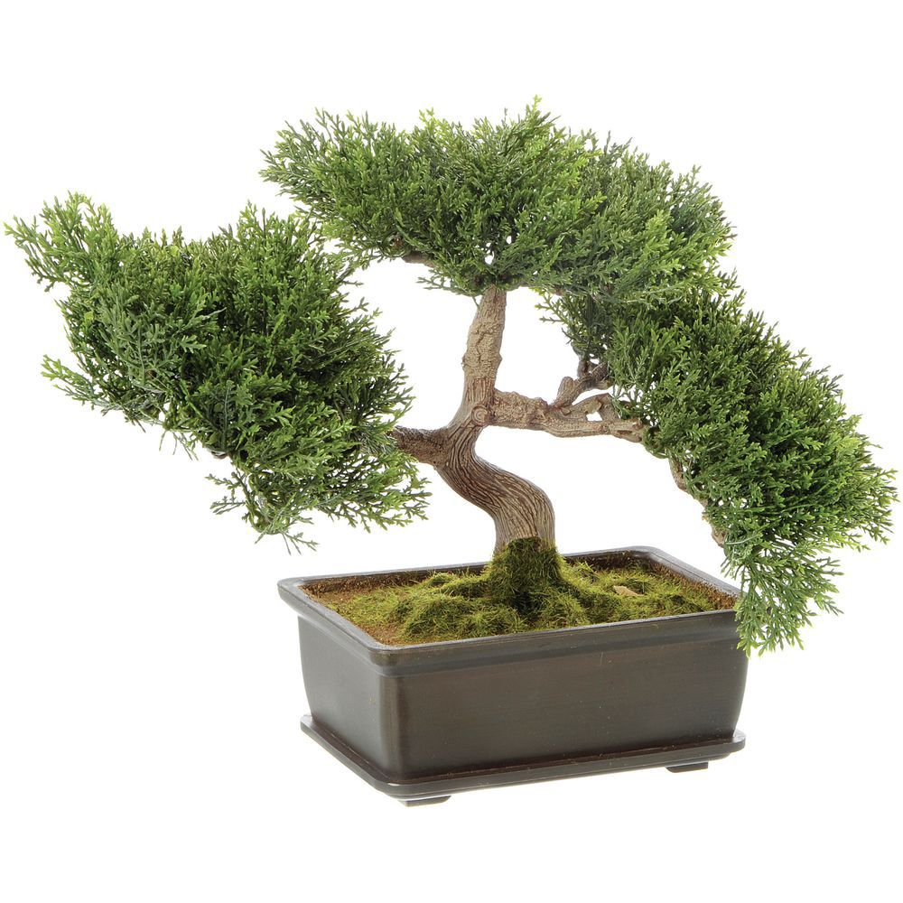 Artificial 9 H Cedar Bonsai Tree