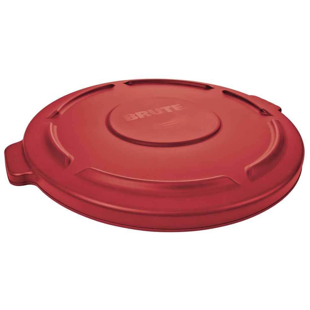 Red Trash Can Lid