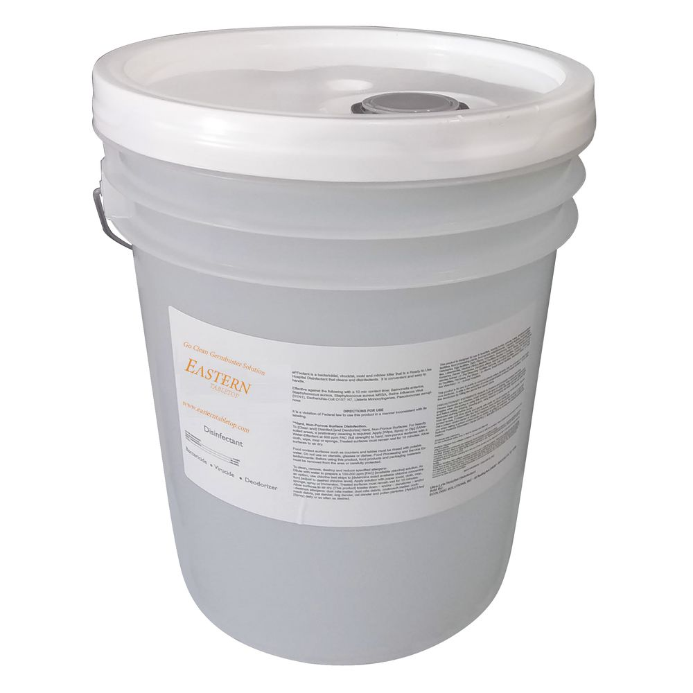 SOLUTION, DISINFECTING, ORGANIC, 5 GAL