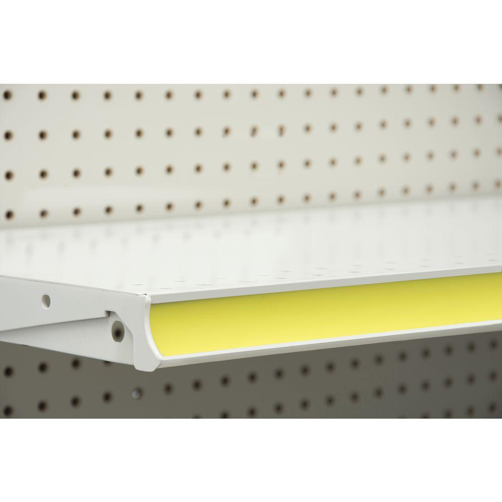 Yelllow Cut To Length Shelf Molding Cover Rolls