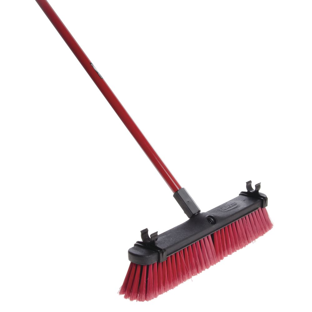 """Libman® Multi-Surface Push Broom With Handle 18""""W"""
