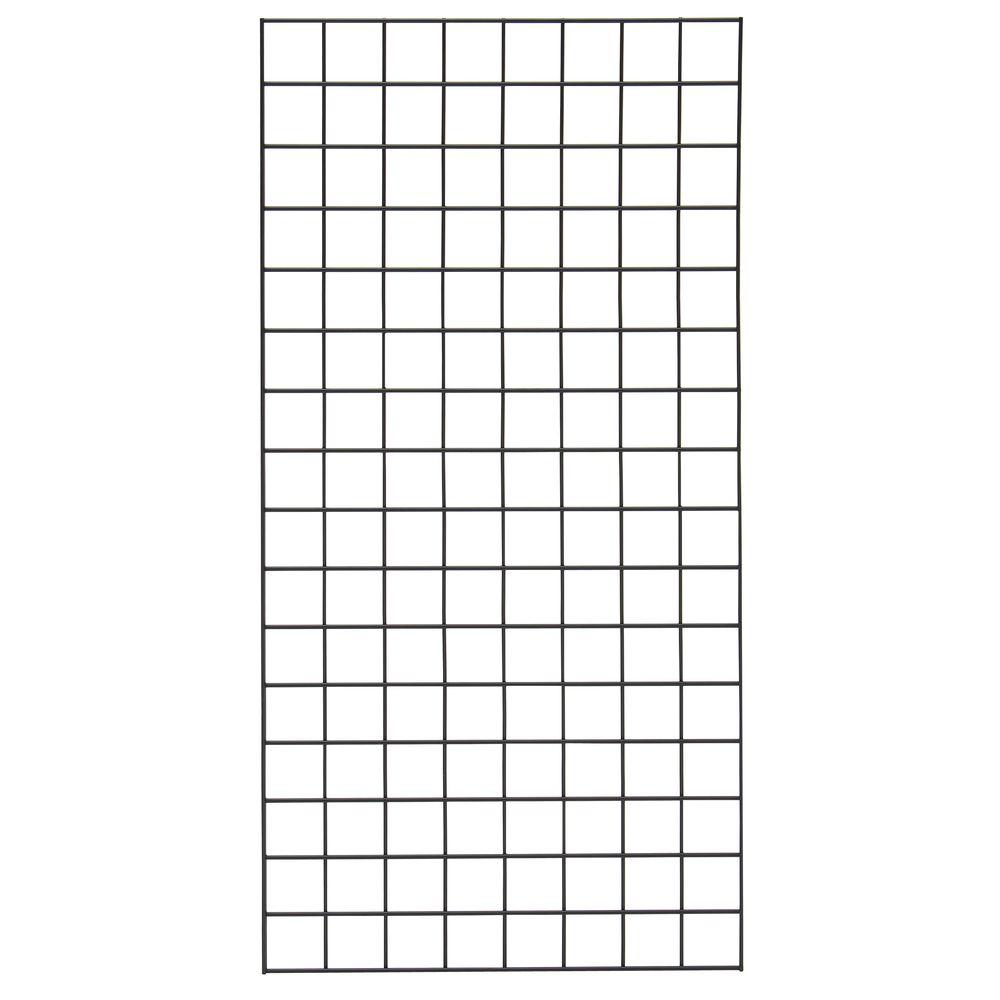 Grid Wall Mount Bracket Black