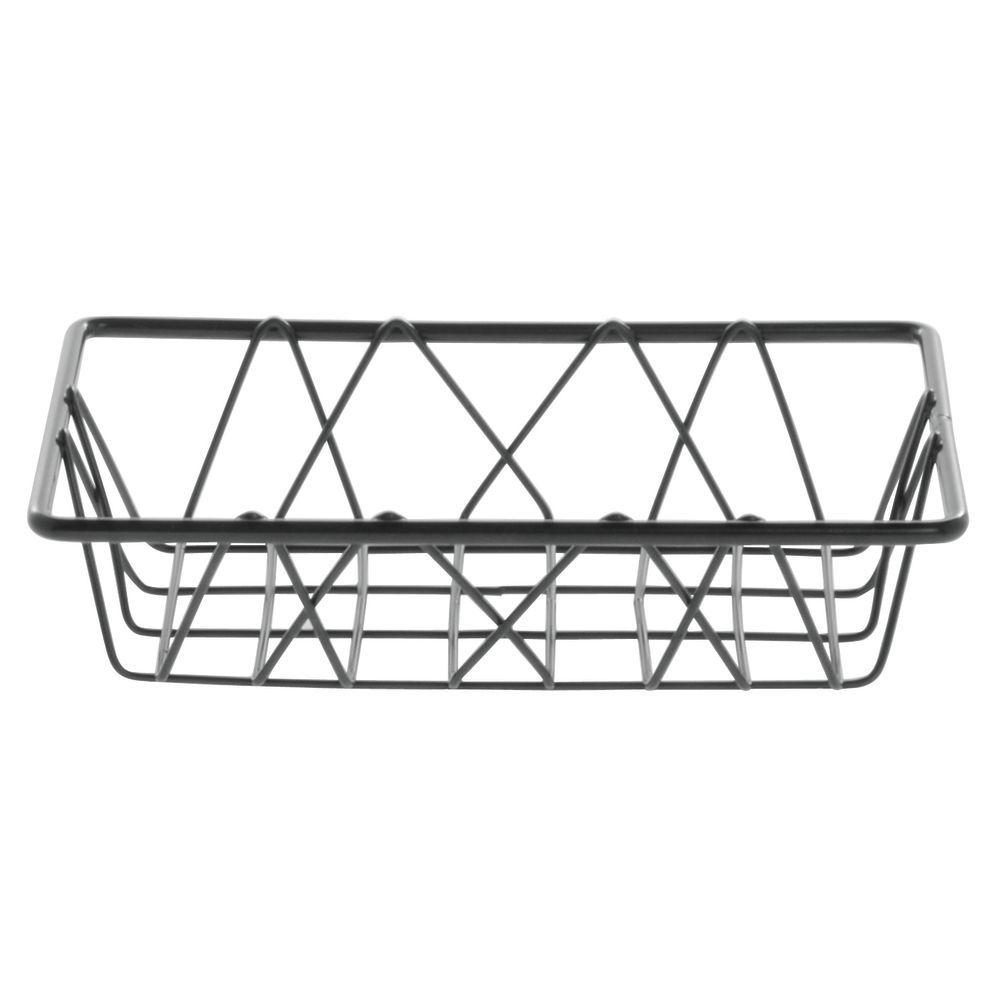 "Hubert Small Wire Basket Nickel 9""L x 6""W x 2""H  Hubert Small Wire Basket Nickel 9""L x 6""W x 2""H  Nickel Small Wire Basket Features Attractive Design"