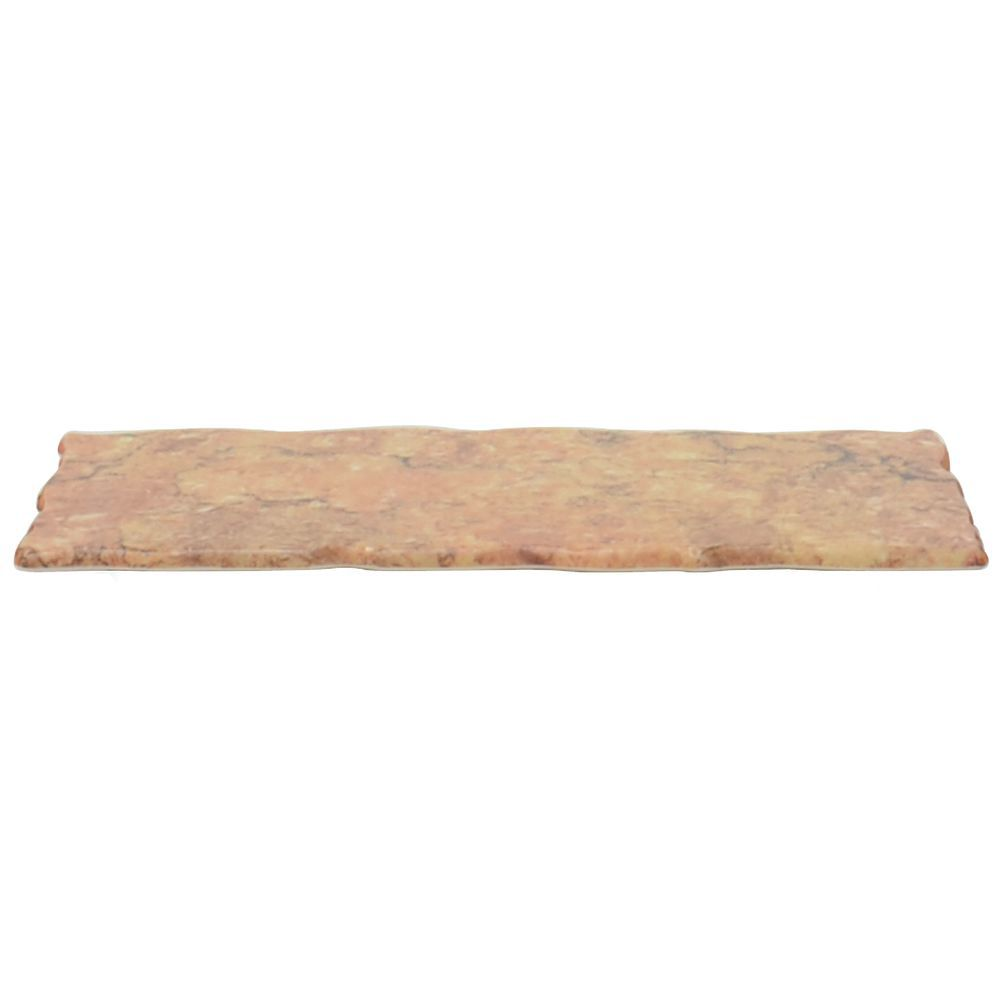 Food Display Risers in Rust Granite