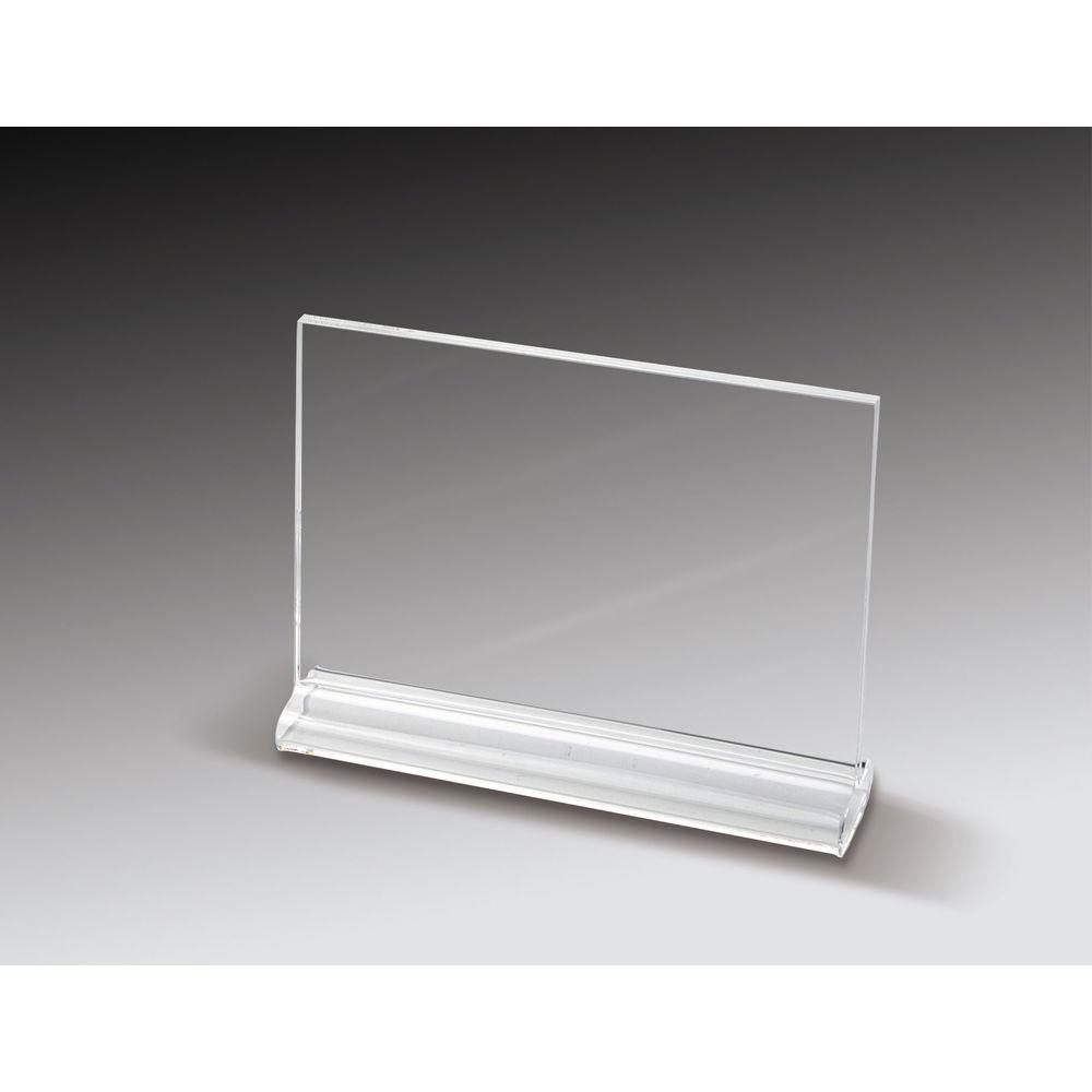 7 x 5 1/2 Clear Acrylic Sign Holders