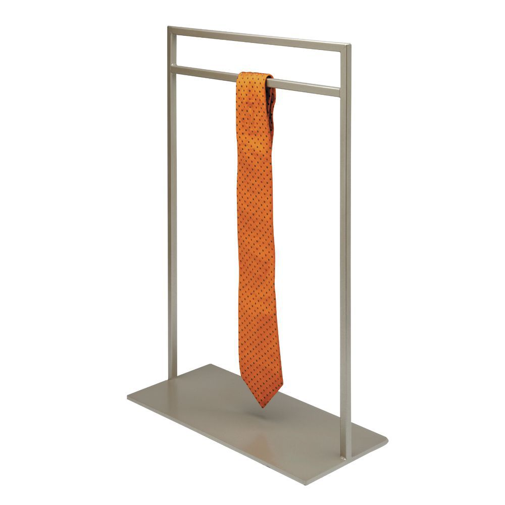 Taupe Metallic Tie Stand