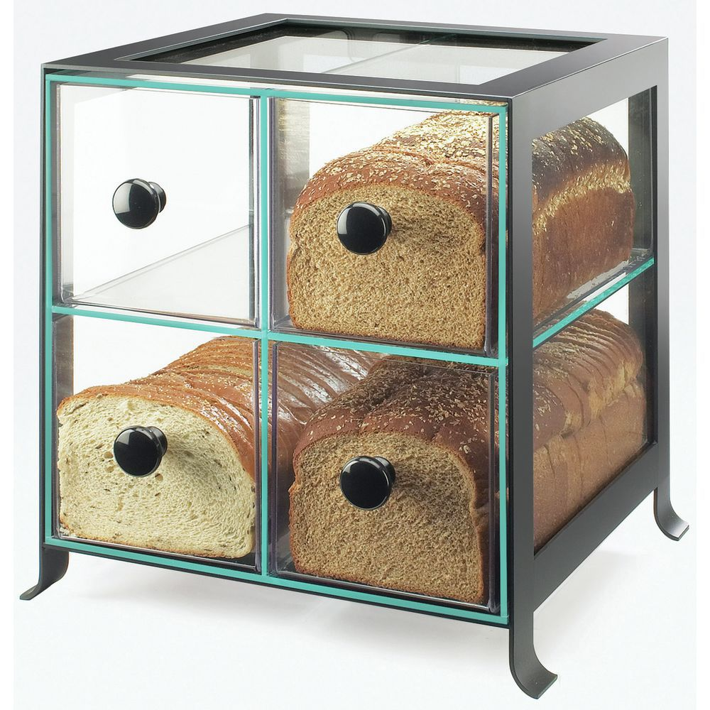 Acrylic Countertop Display Case with Black Frame
