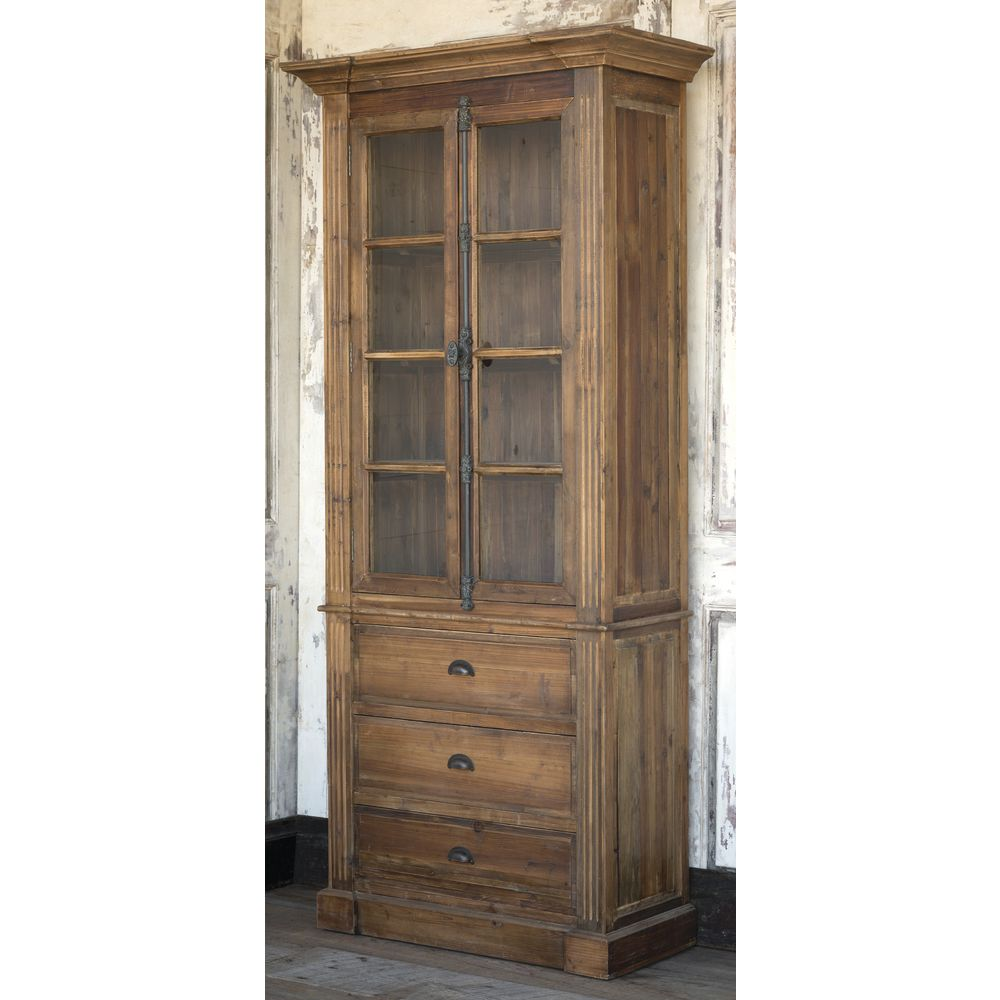CABINET, ARCHIVE, RECLAIMED PINE, NATURAL