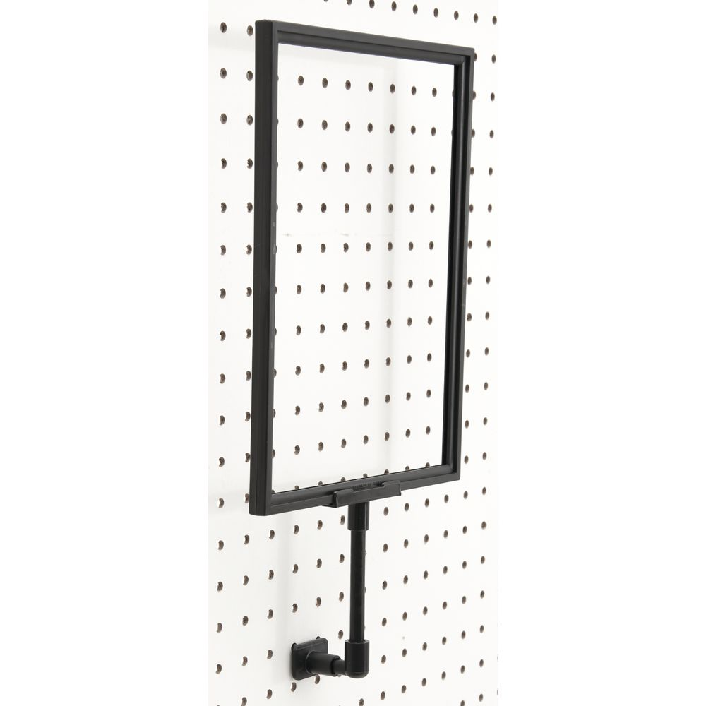 """SIGN FRAME, PEGBOARD, W/4""""EXTNSION, 7""""X11"""""""