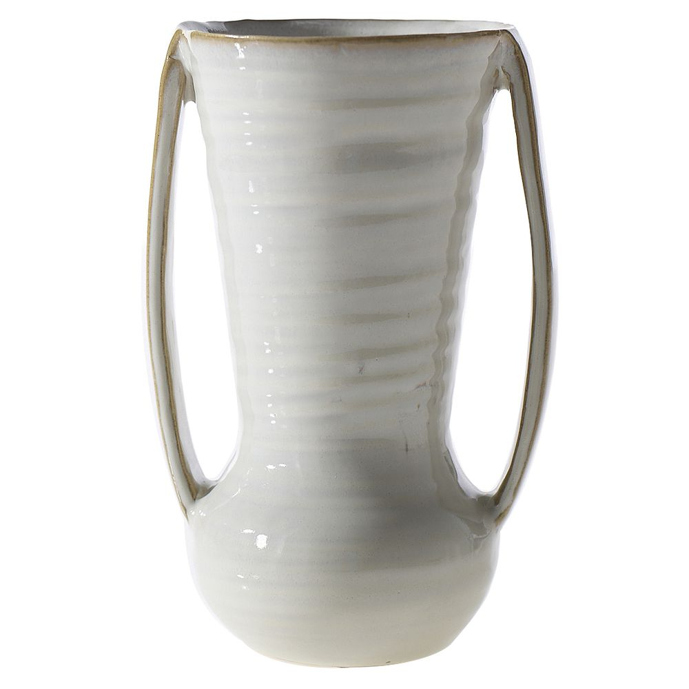 POT, CERAMIC HANDLED, ZARA, 5.25X4.25X7.75
