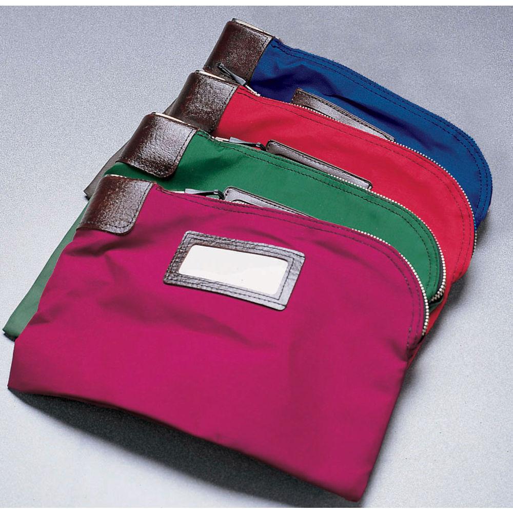 BAG, RED-SELF-LOCKING SECURITY