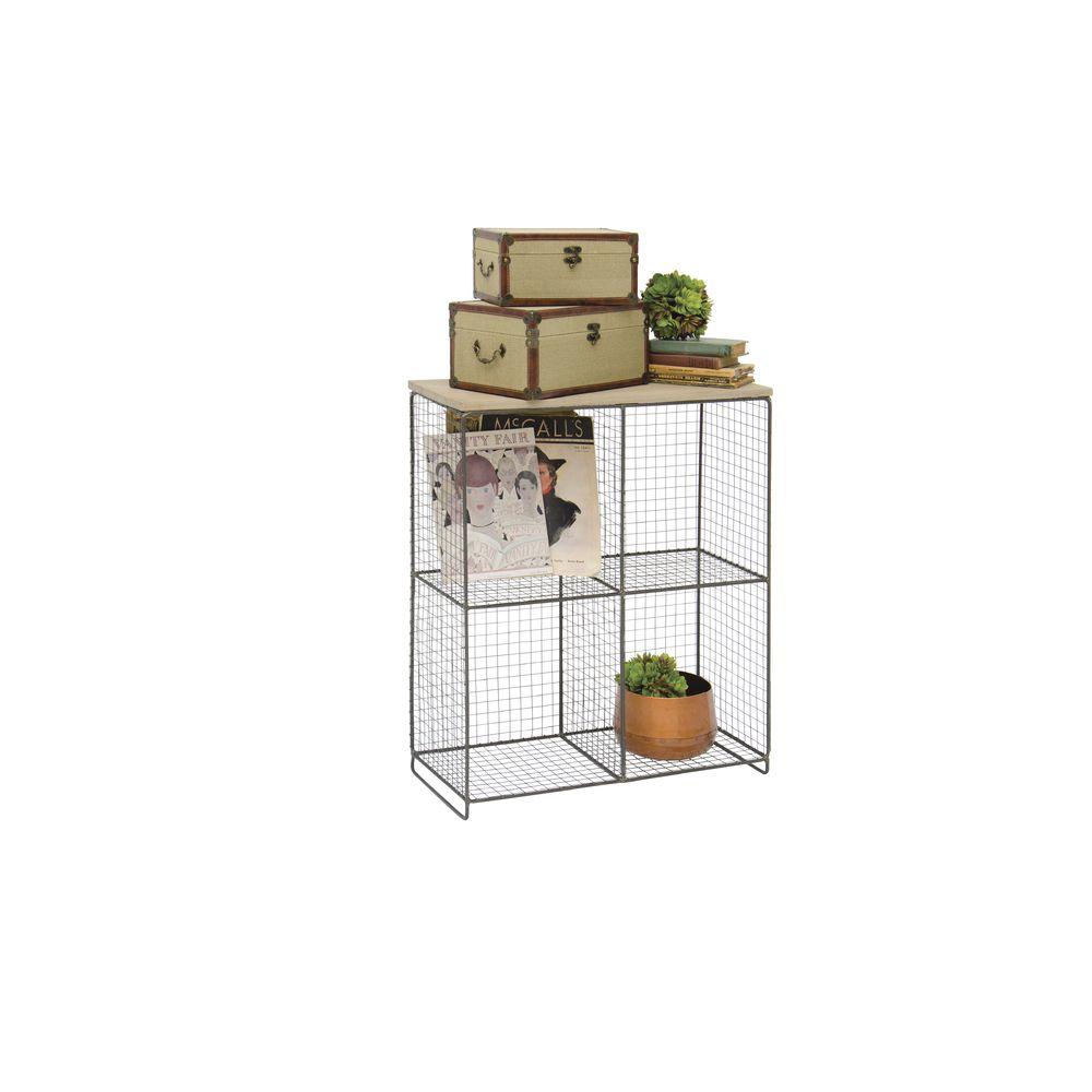 4 Compartment Wire Cube Storage