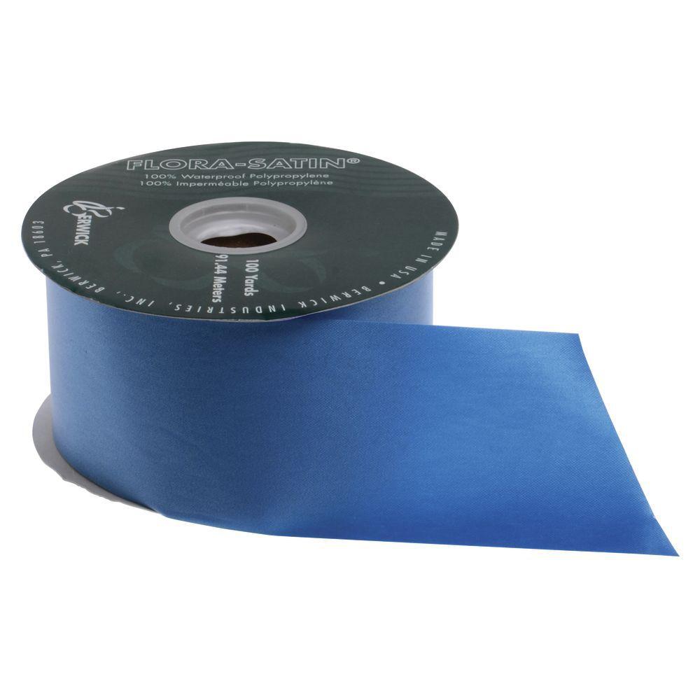 2 1/2 (W) Decorative Ribbon, Royal Blue