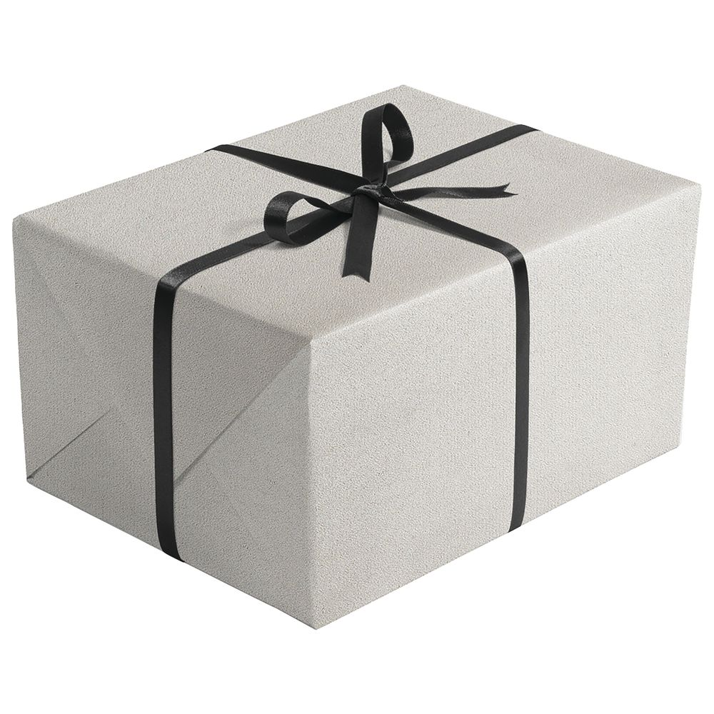 Silver Retail Gift Wrap