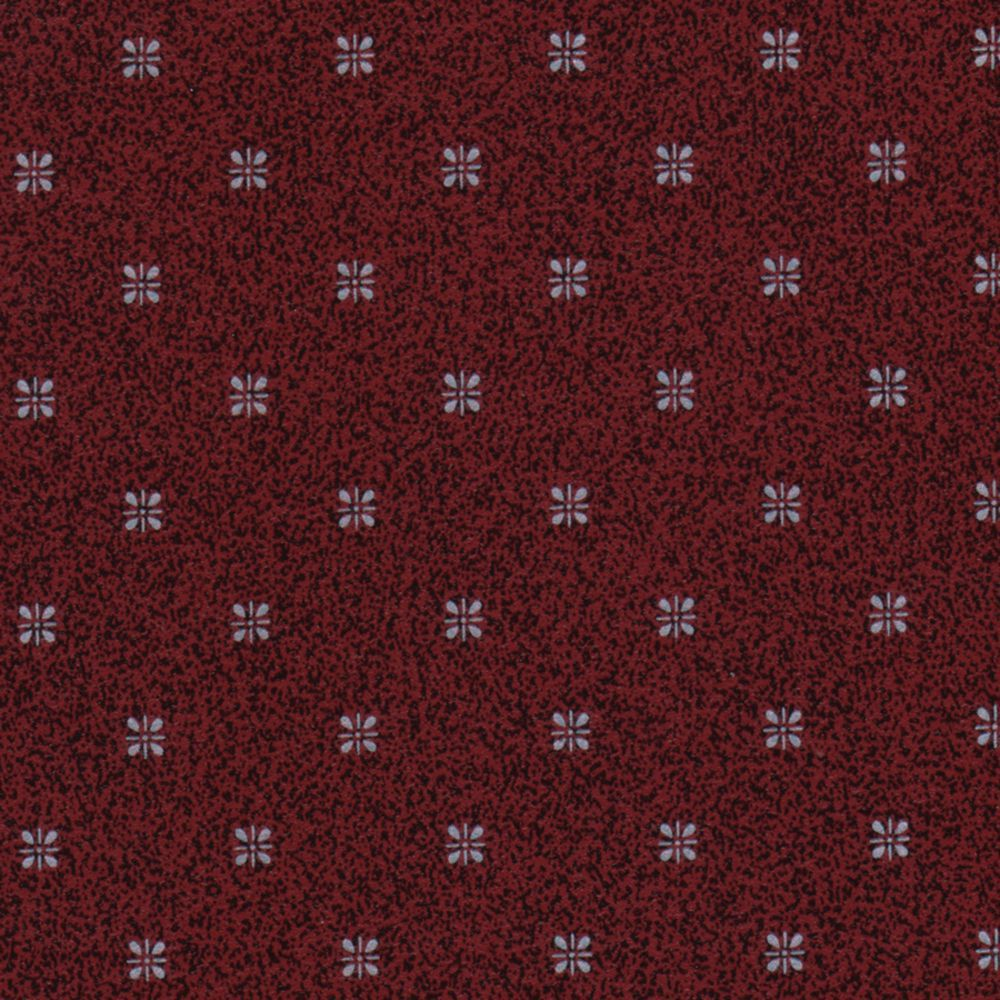 TABLECOVER, VINYL, 52X52, CABERNET