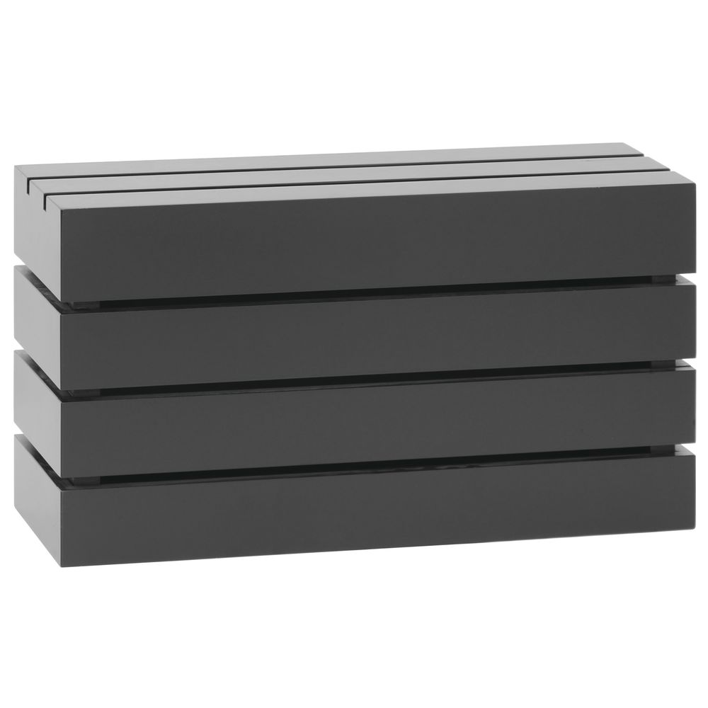 CRATE, RECTANGLE, BLACK, 20LX7WX11H