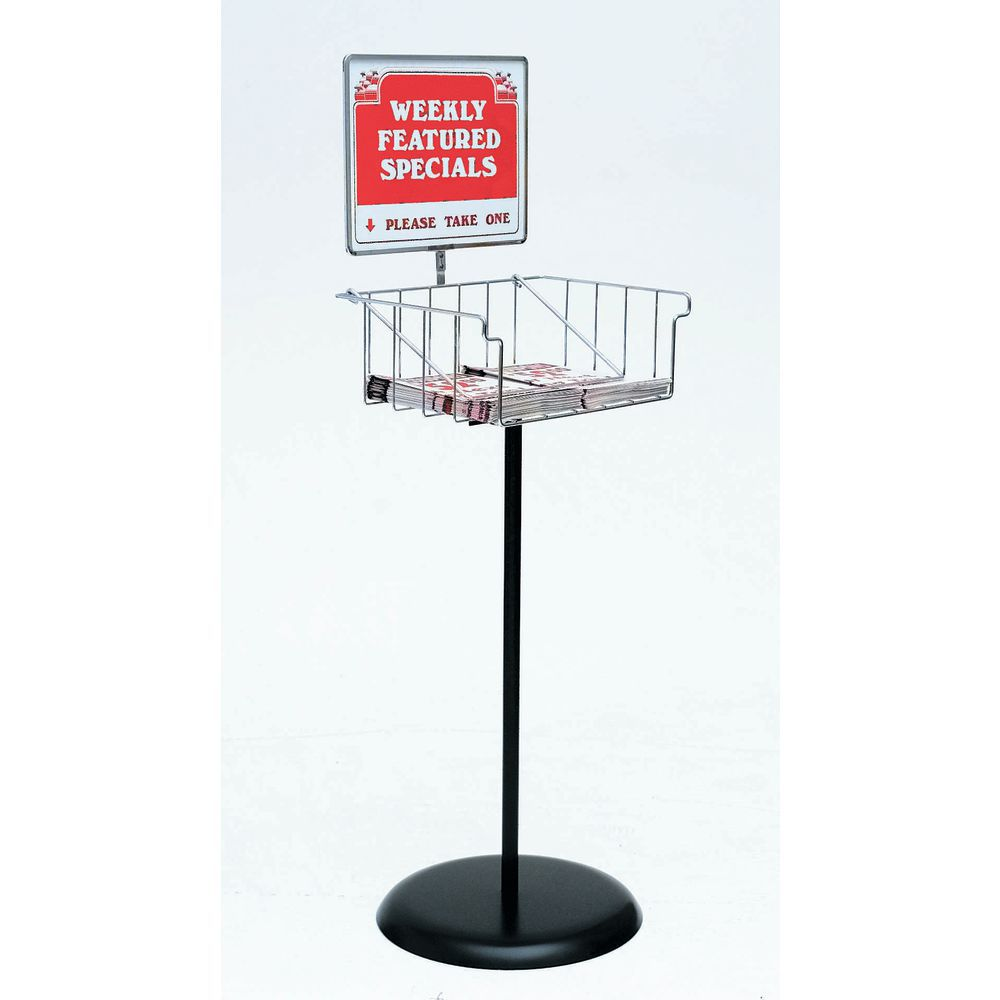 Wire Display Racks Hold Circulars