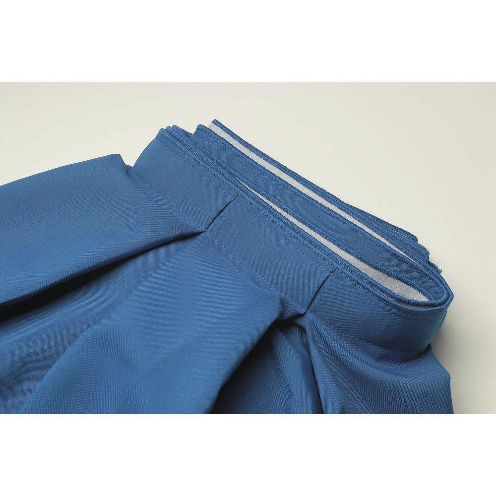 "Royal BlueTable Skirt Box Pleated Polyester 29""H x 13""L"
