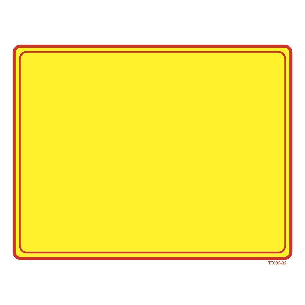 Blank Price Sign, 7 x 5 1/2