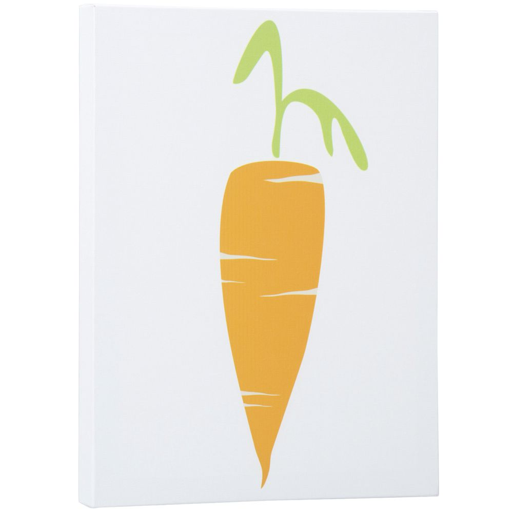 Carrot Canvas Wall Art, 16 x 20