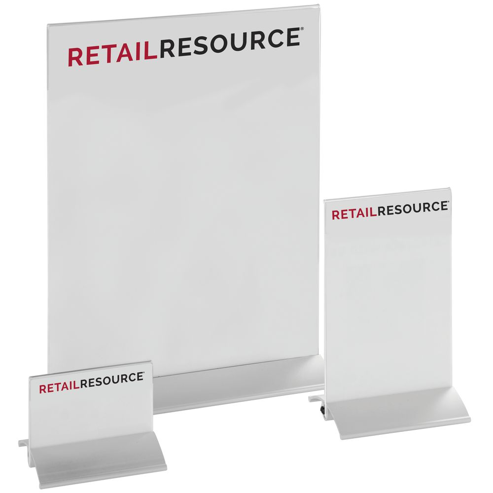 8 1/2 x 11 Double-Sided Sign Holder