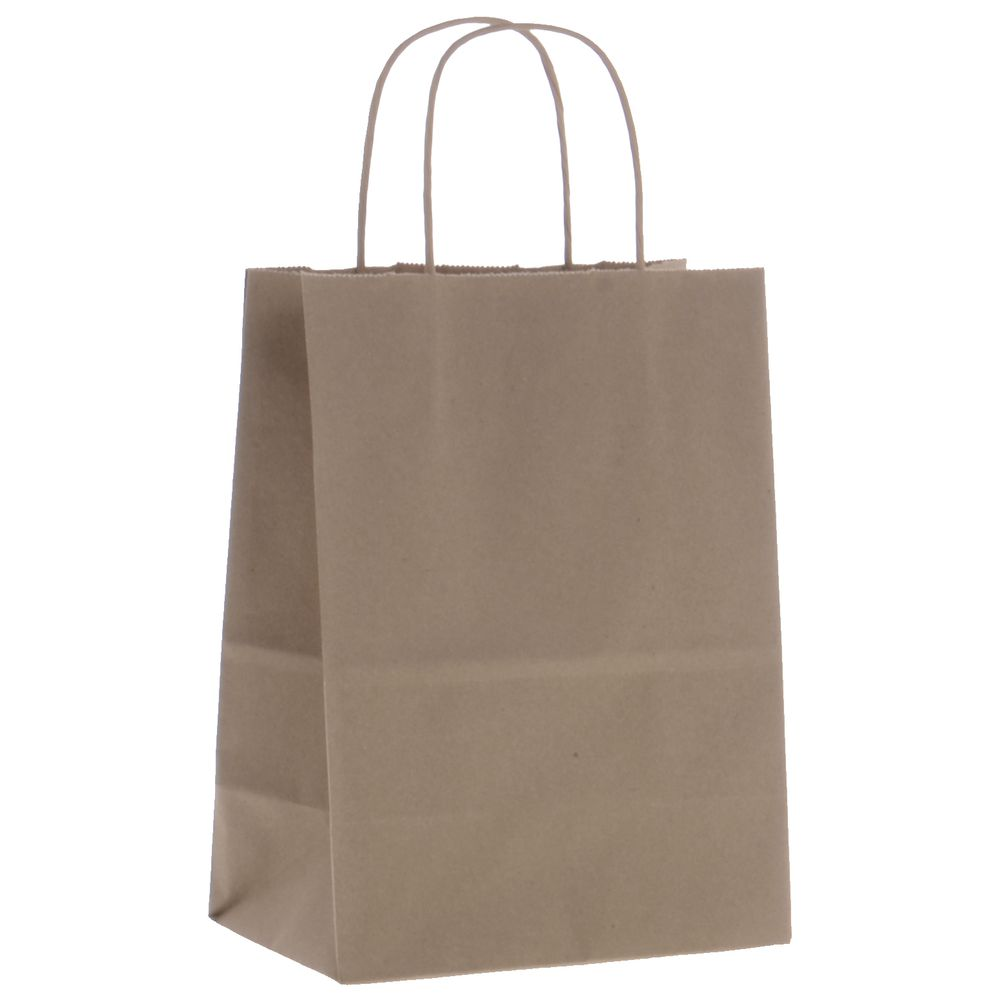 Kraft Paper Bags with gusset bottom