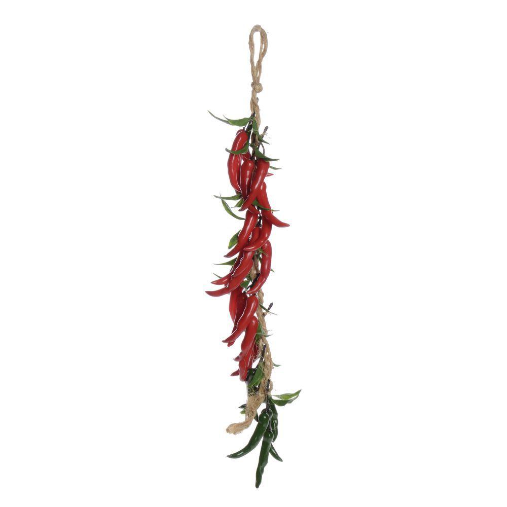 Red/Green Pepper String