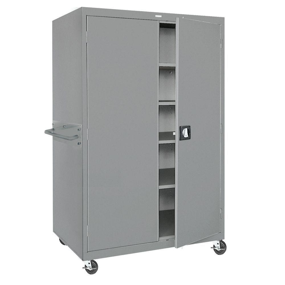 Food Service Mobile Locking Cabinet