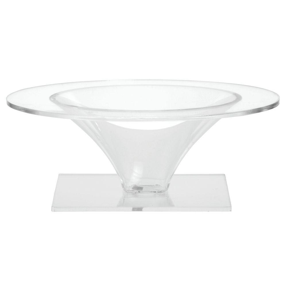 Delfin® Acrylic Riser Elegantly Displays Food Item