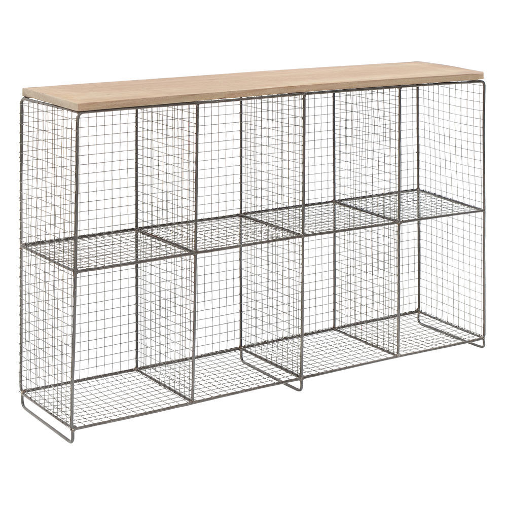 8 Compartment Wire Cube Storage