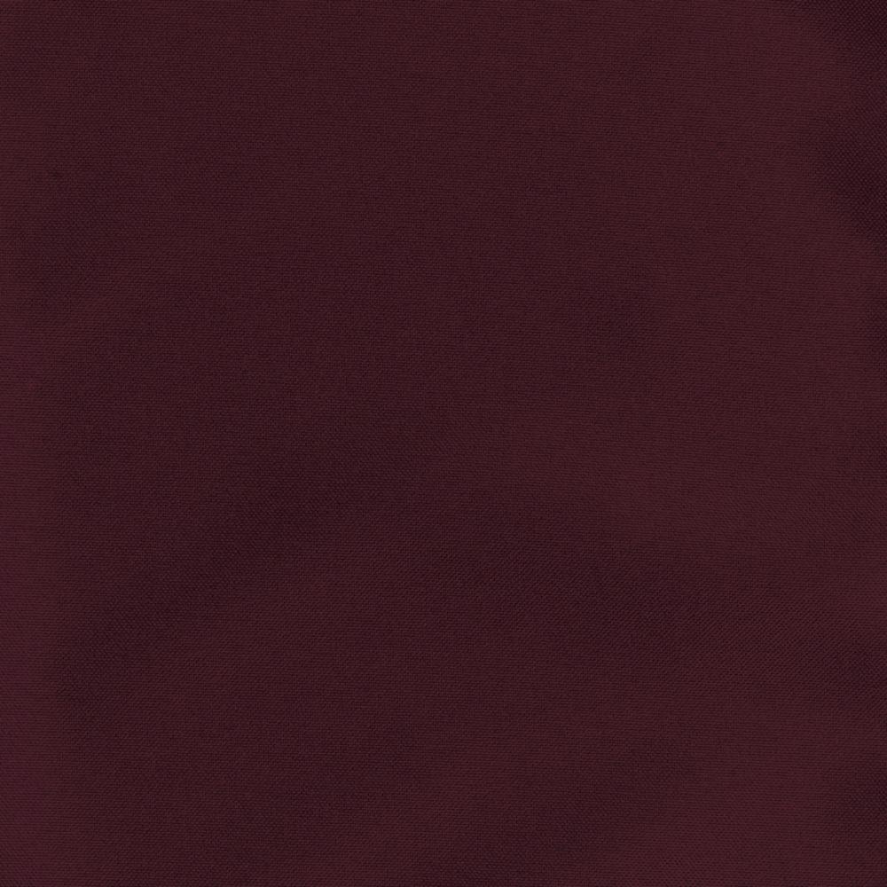 "90"" FabricTablecloth, Burgundy"