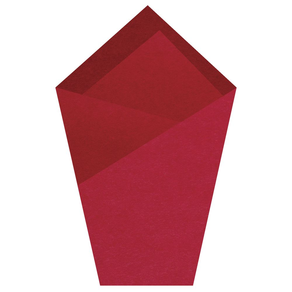 Scarlet Colored Tissue Paper