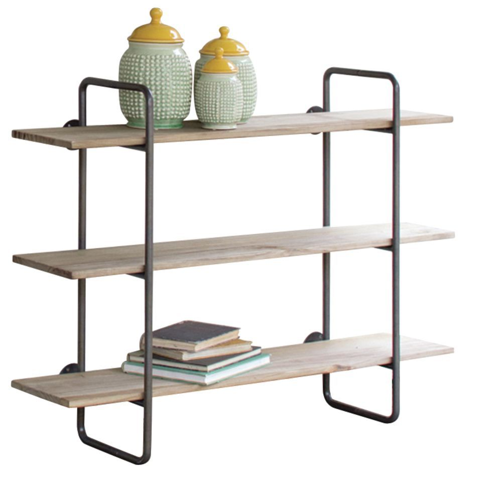 Industrial Pipe Shelving Unit Small