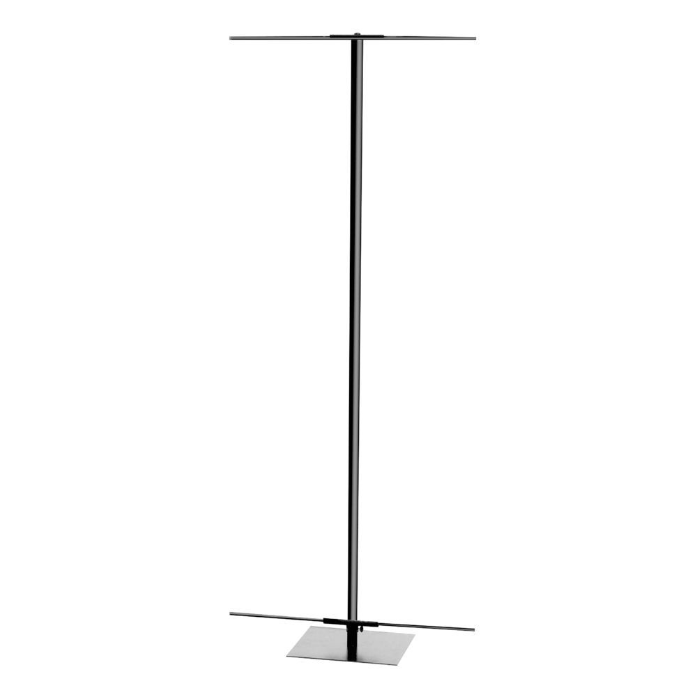 Silver Adjustable Banner Stand