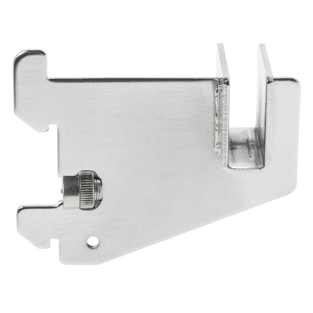 "3""L Chrome Hangrail Shelf Bracket, Imperial Line"