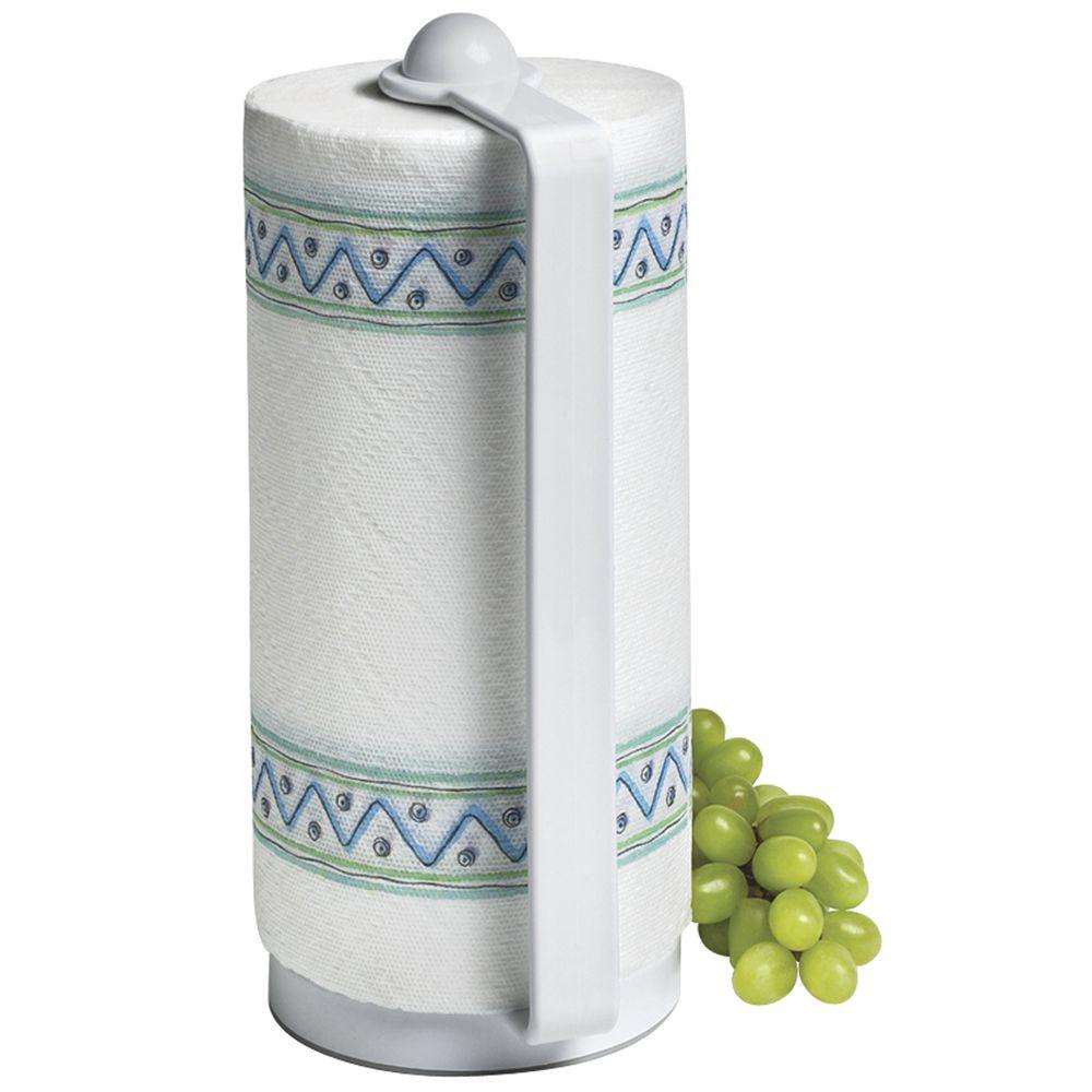 white plastic portable paper towel holder. Black Bedroom Furniture Sets. Home Design Ideas