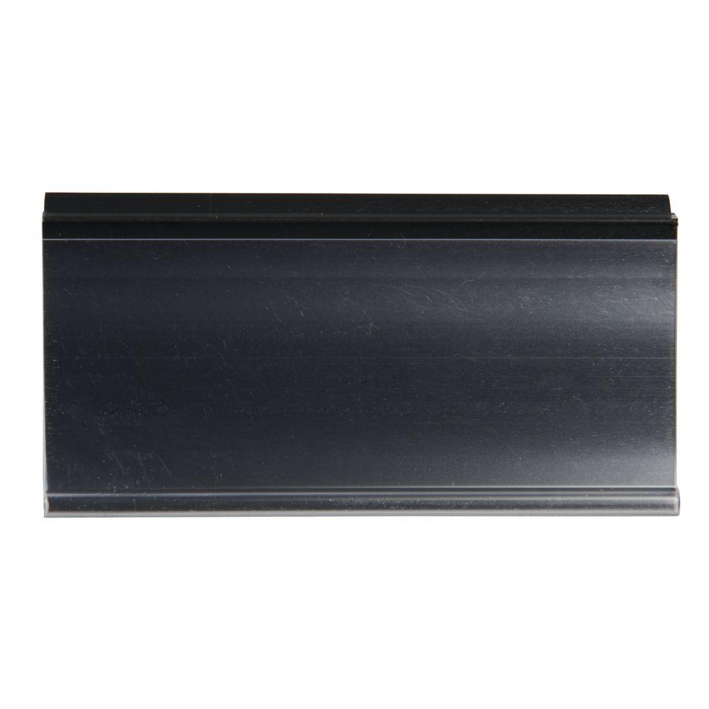 "Wire Shelf Label Holder For Metro Shelves 1 1/4""H x 3""L"