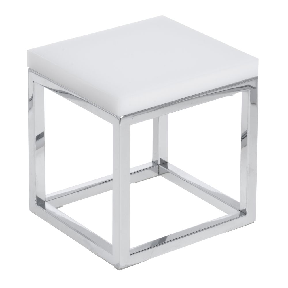 RISER TOP, ACRYLIC, WHITE, F/84928, SQUARE