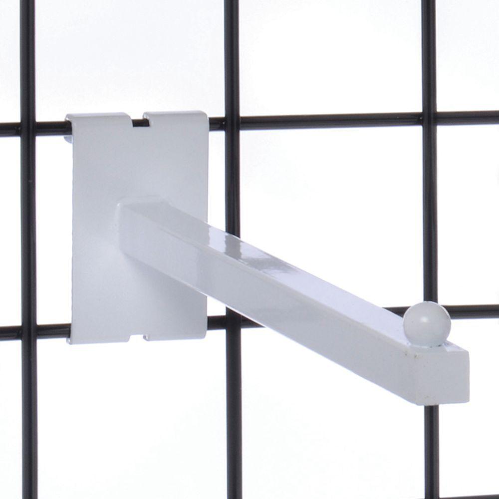 White Slat Board Hooks
