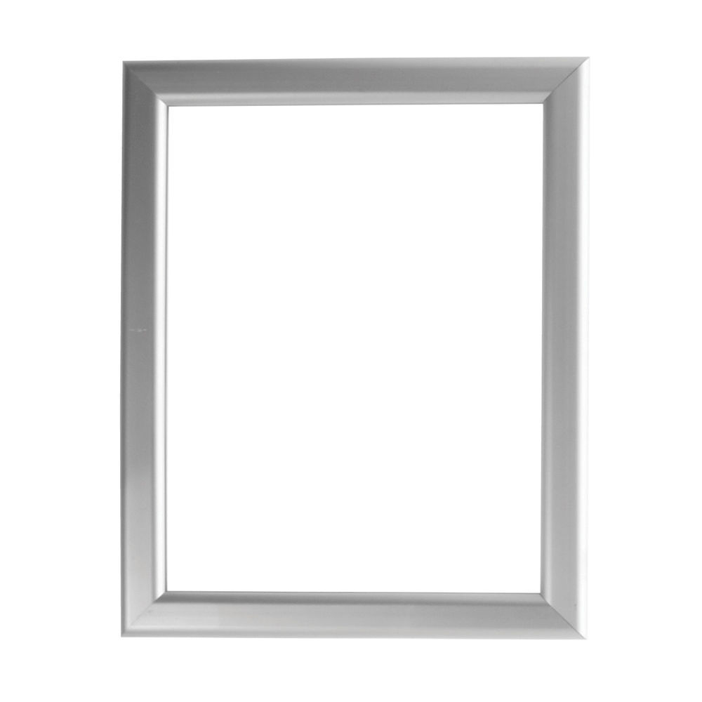 8 1/2  x 11 Hanging Sign Holders Silver
