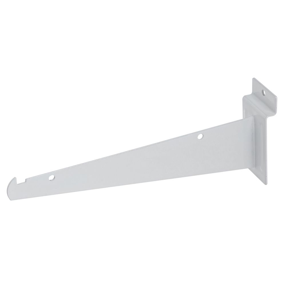 "8"" White Slatwall Shelf Bracket"